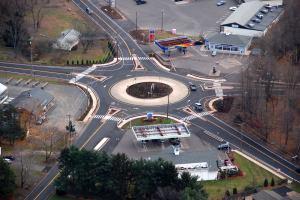 Ellington roundabout 11-201