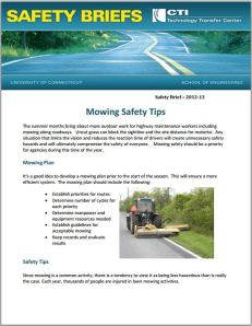 Mowing Safety